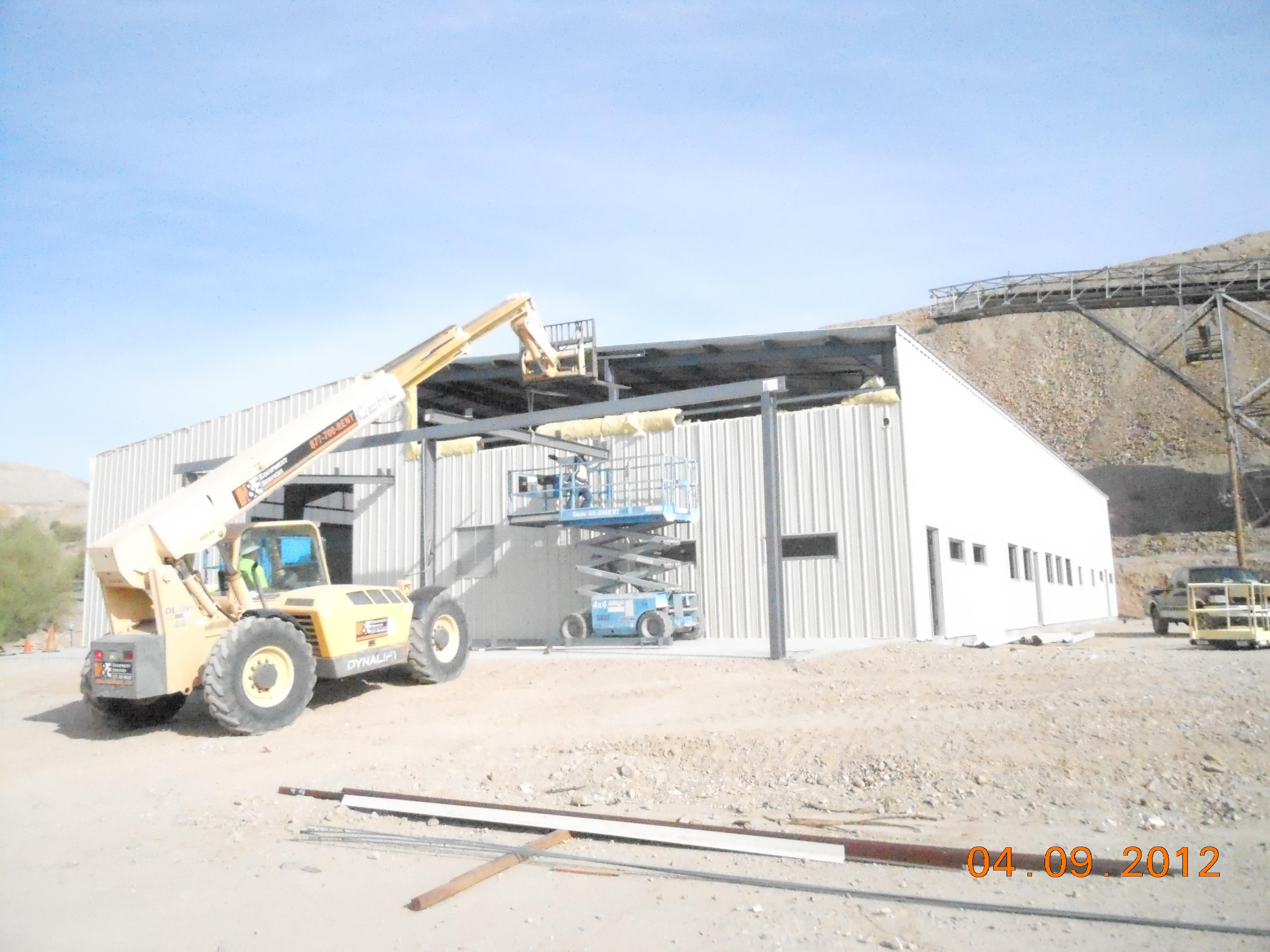 Continuing the Building Facade Work