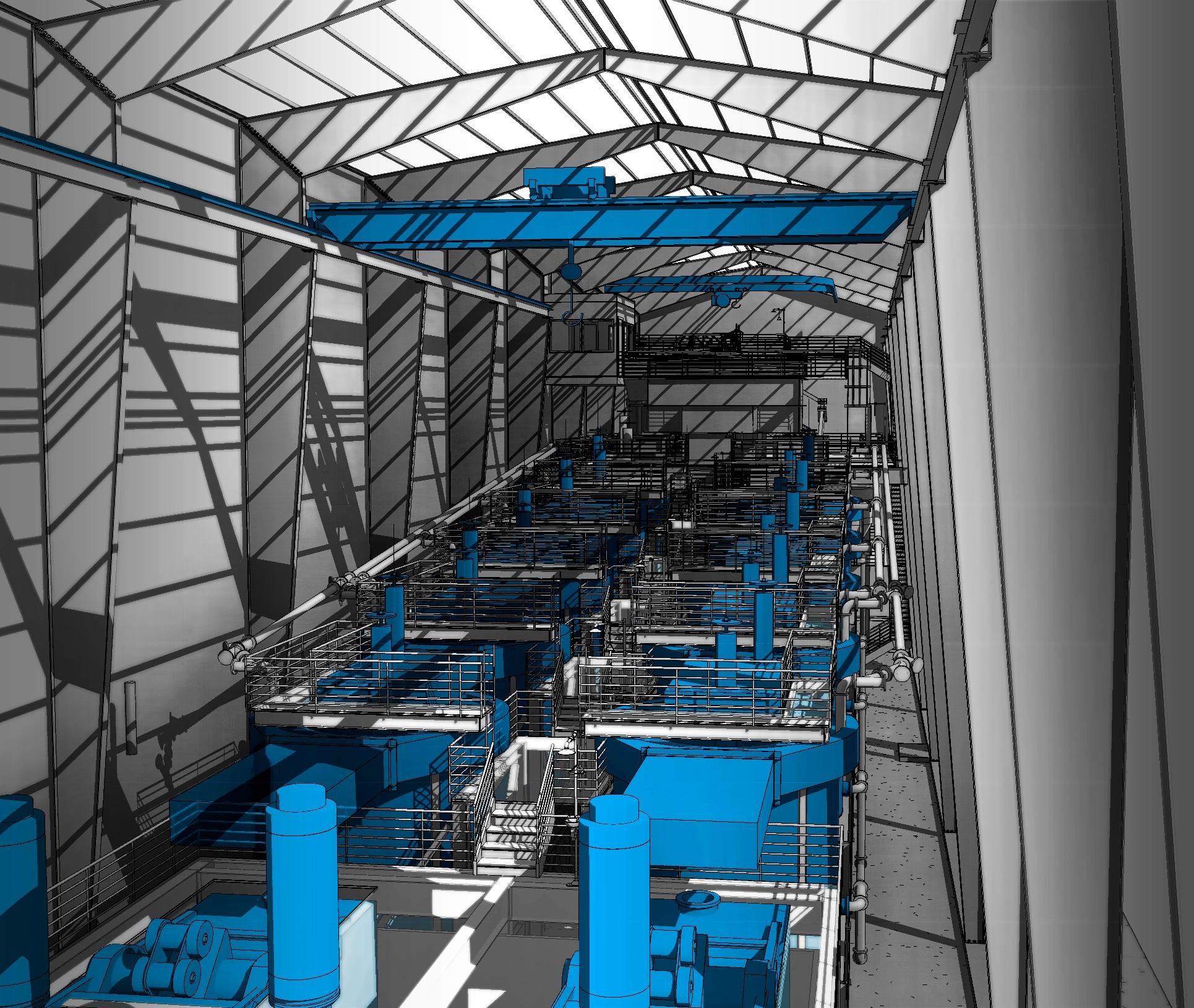 Carbon in Column - CIC - 3D Interior