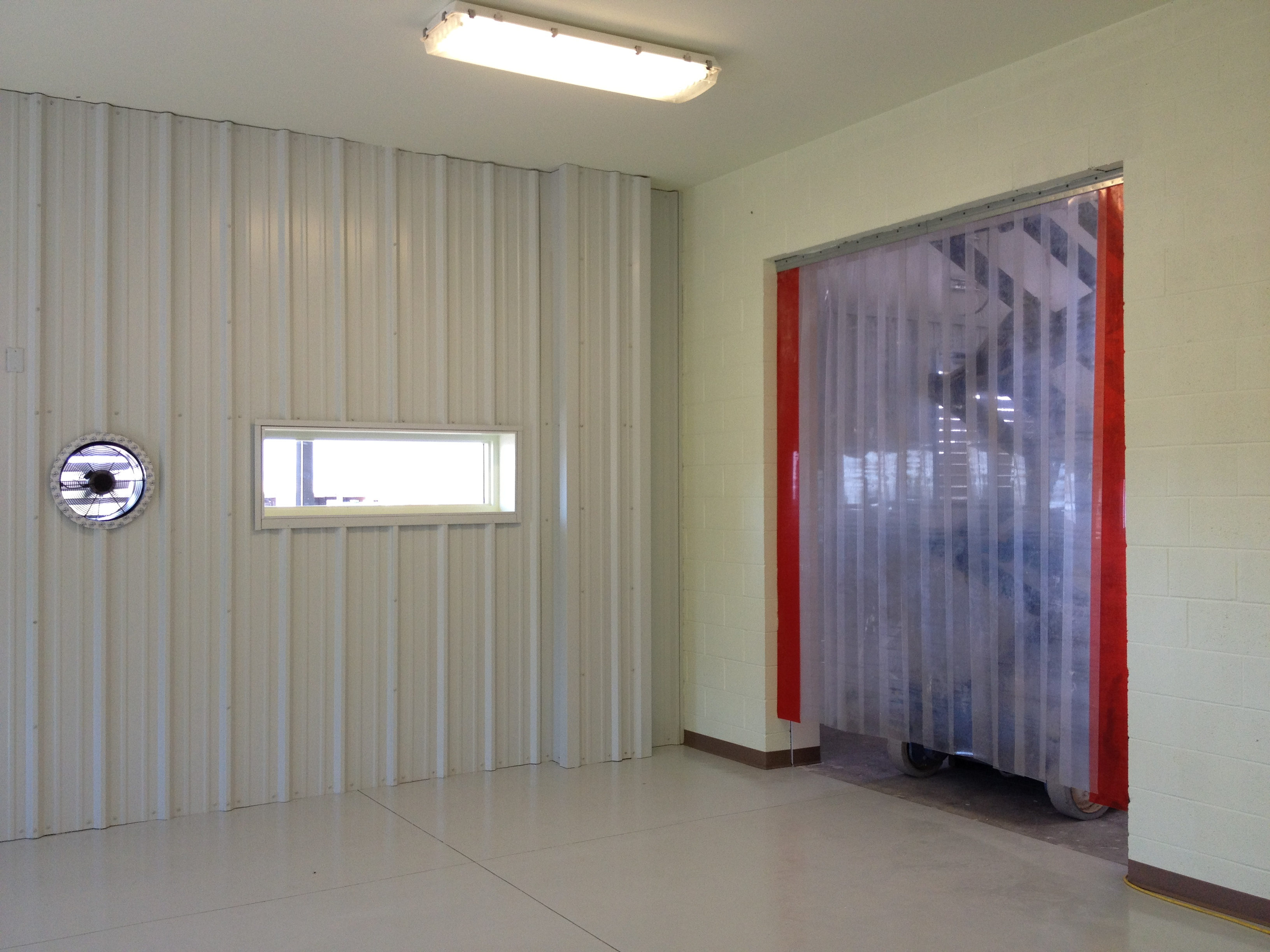 Installation of the Air Curtain