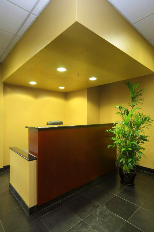 Hanlon Engineering Corporate TI Interiors Reception