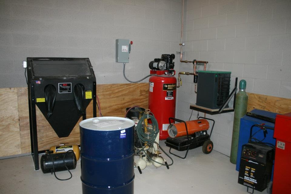 Hazardous Material Room