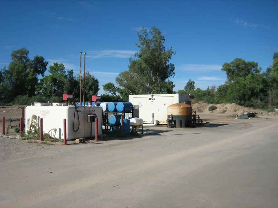 Fuel Island / Chemical Storage