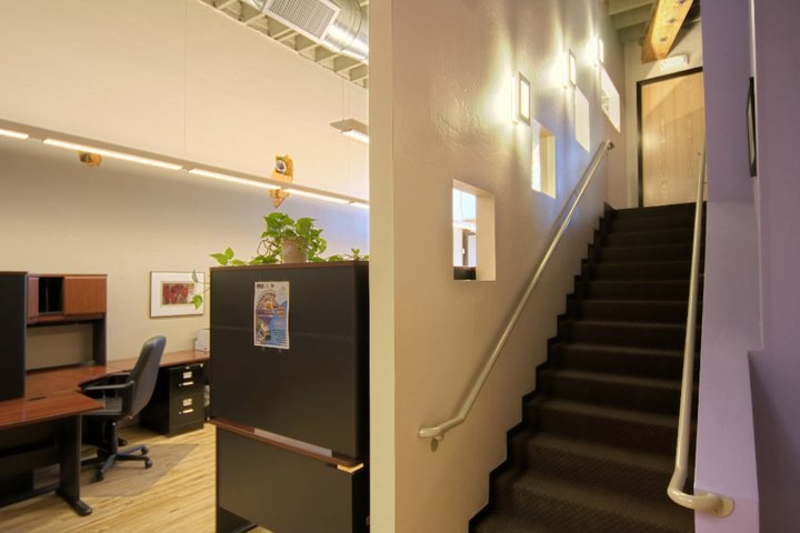 Workspace and Stairwell