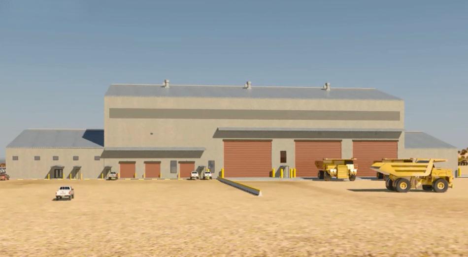Maintenance Shop, Truck Yard