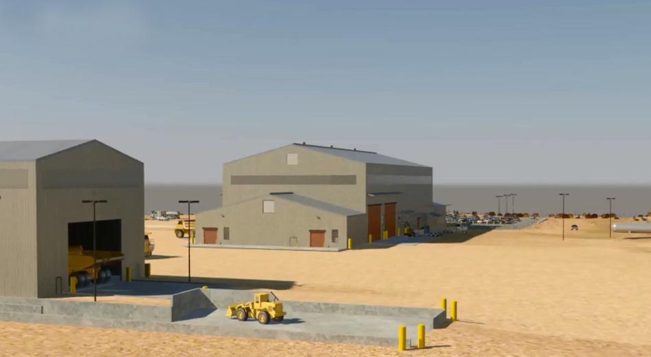 Maintenance Shop, Truck Yard, Truck Wash