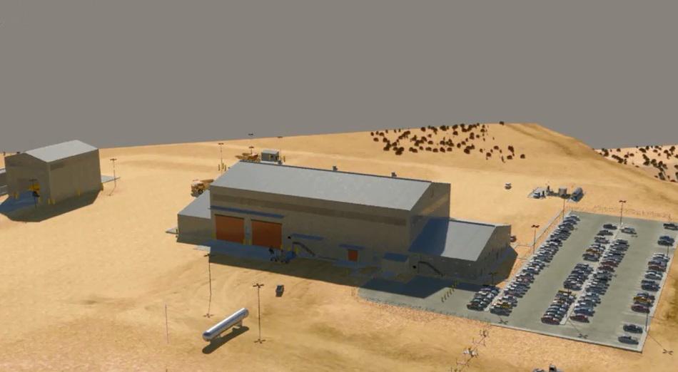Flyout Maintenance Shop & Yard