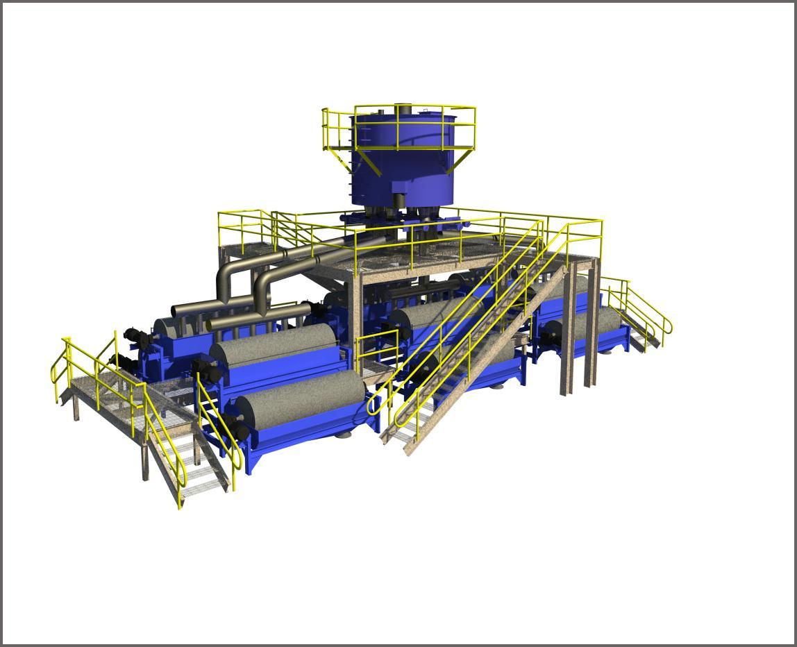 Magnetic Separator BIM Model