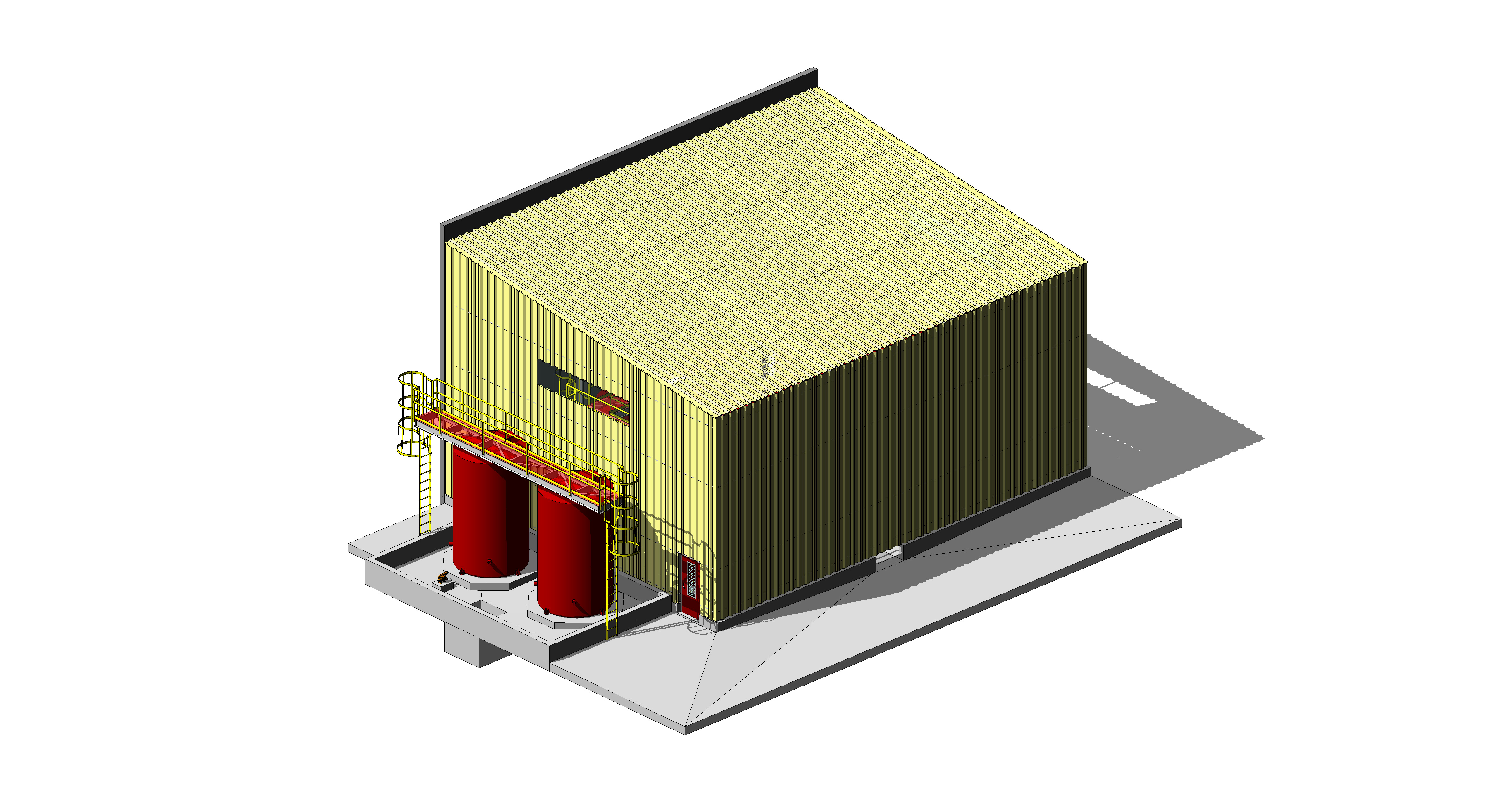 Hanlon Rain Mine Lube Oil Model