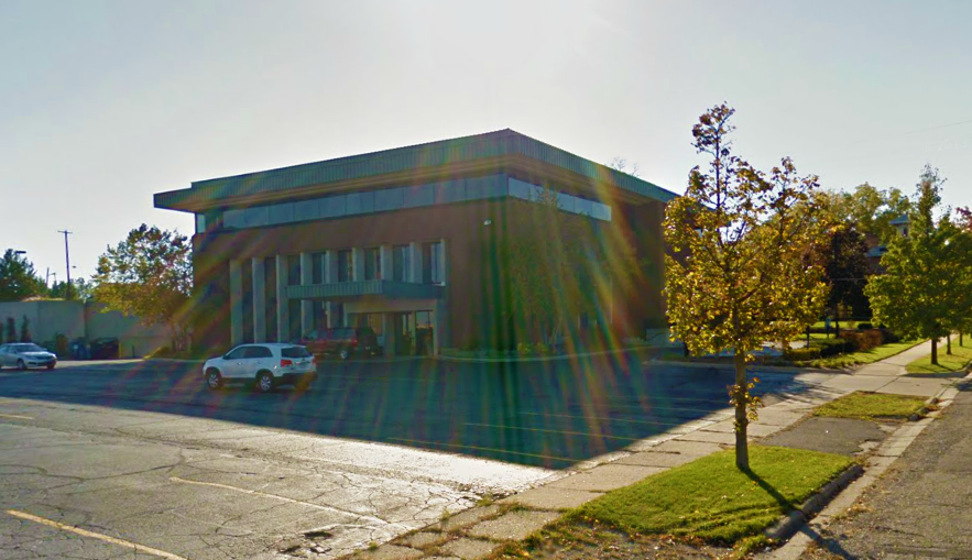 Midrise Commercial Corporate Building Street View