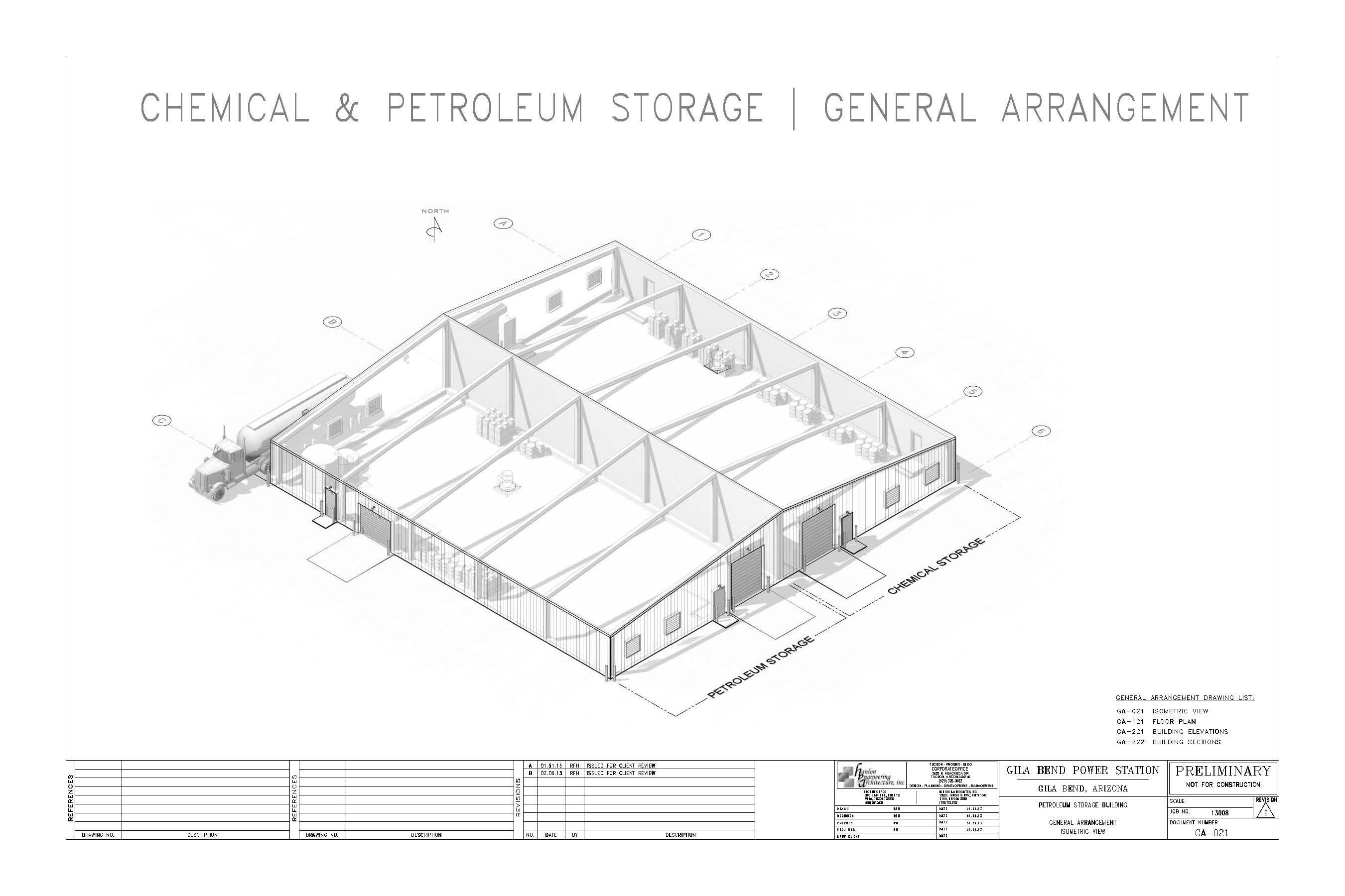 Hanlon Engineering Power Station chemical storage 01