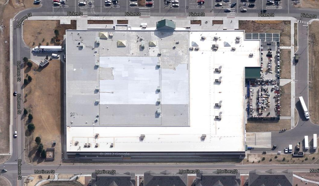 Hanlon Engineering Aerial Commissary Site