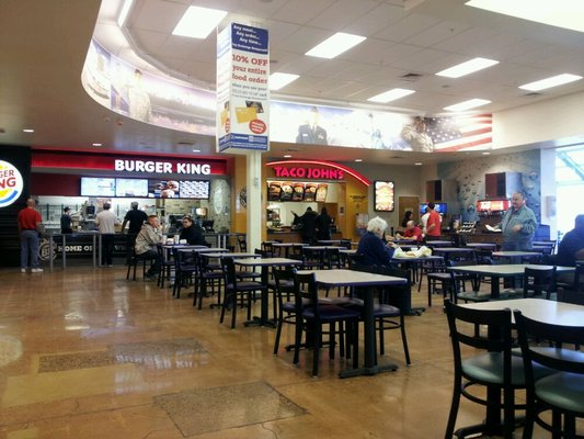 Hanlon Engineering Military Commissary Food Court