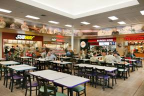 Hanlon Military Commissary Food Court