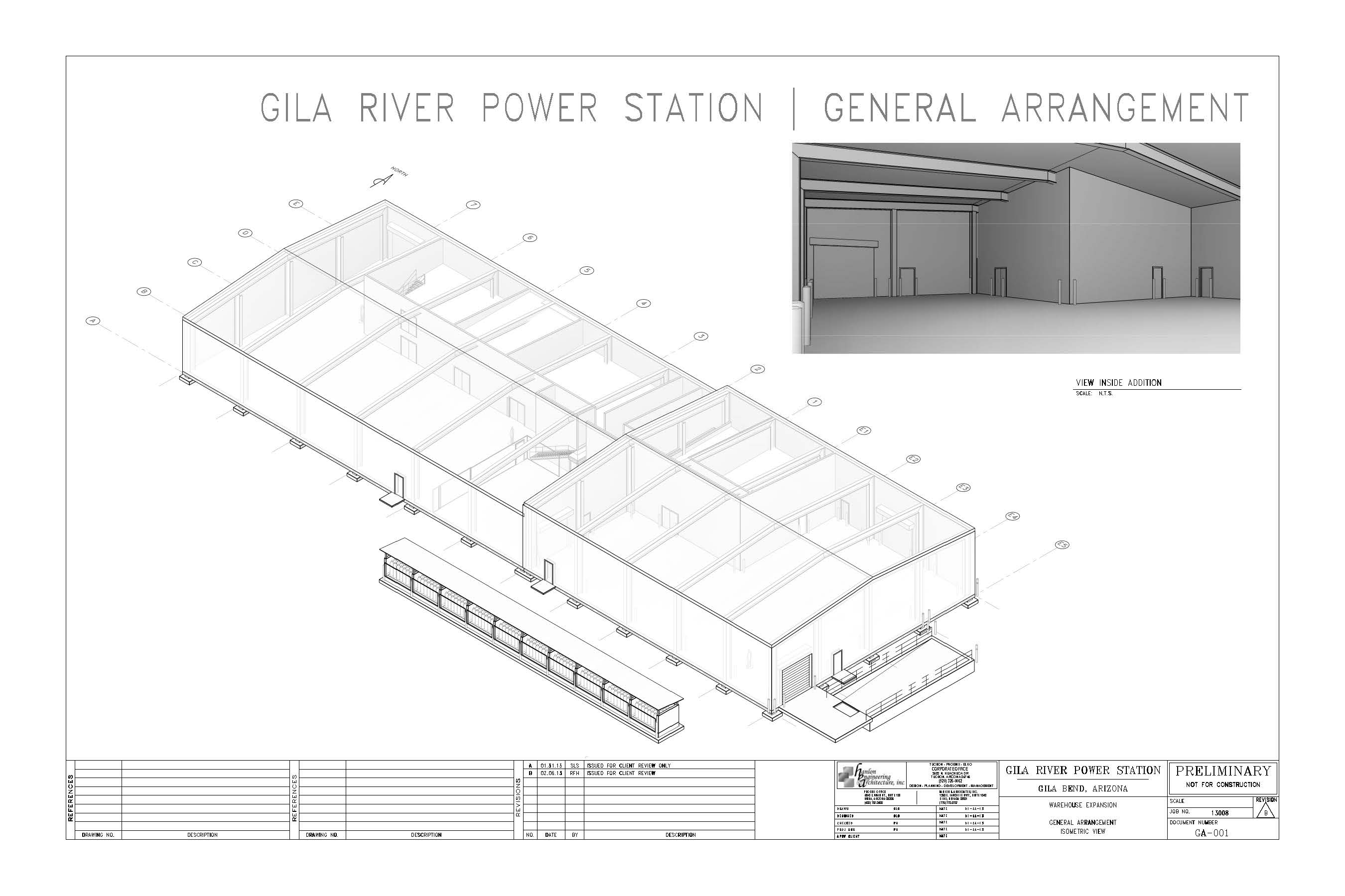 Hanlon Engineering Power Station warehouse 01