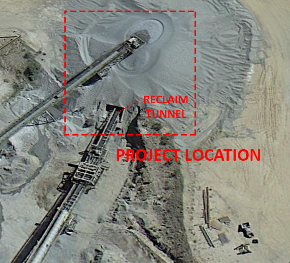 Hanlon Engineering Asarco Aerial Tunnel Before