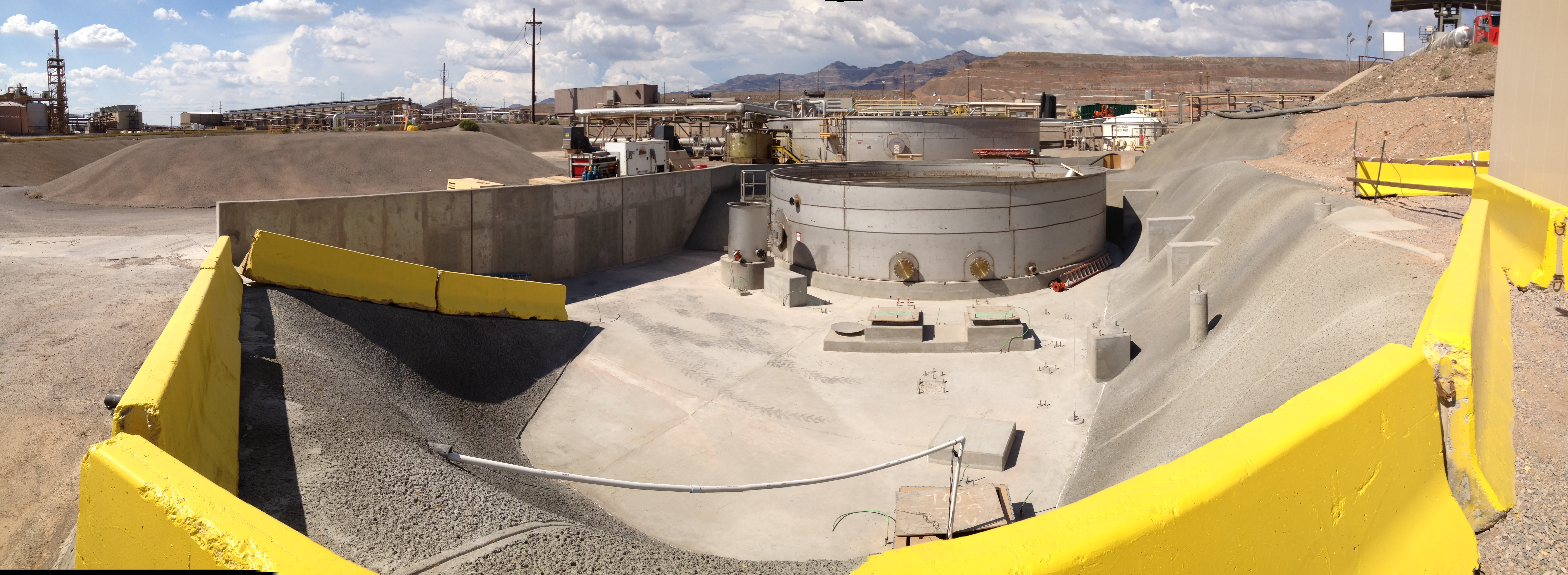 Hanlon Engineering Raffinate Tank and Containment