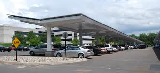 Hanlon Engineering Carport Solar Panels