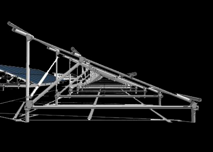 Hanlon Engineering Ground Solar Panel Frame Profile