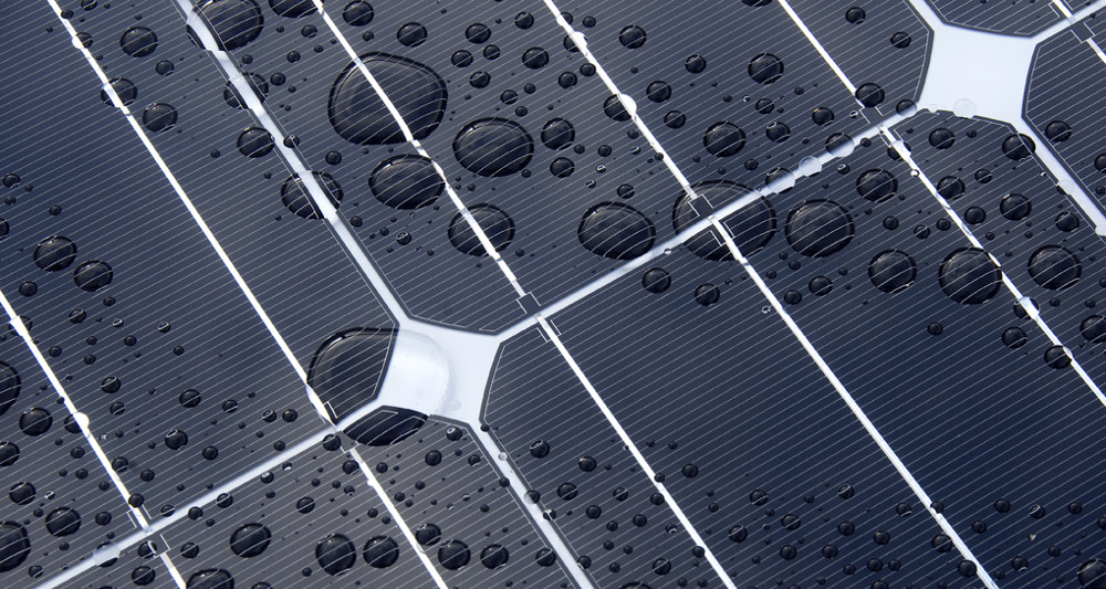 Hanlon Engineering Close-up Solar Panel