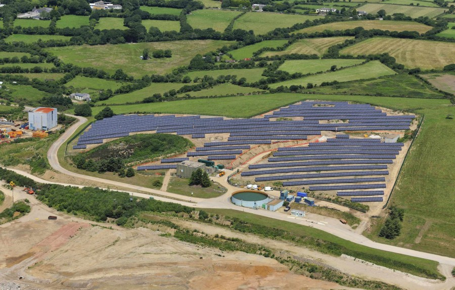Hanlon Engineering Solar Ground Installation