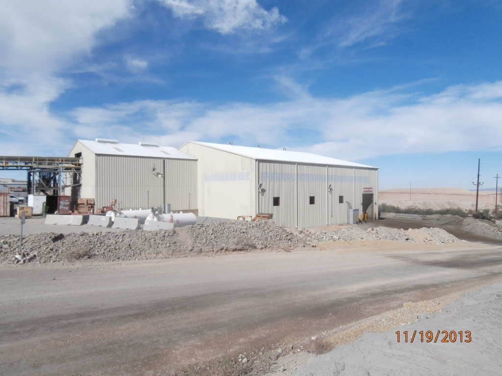 Hanlon Engineering Mining Concentrate Building Expansion