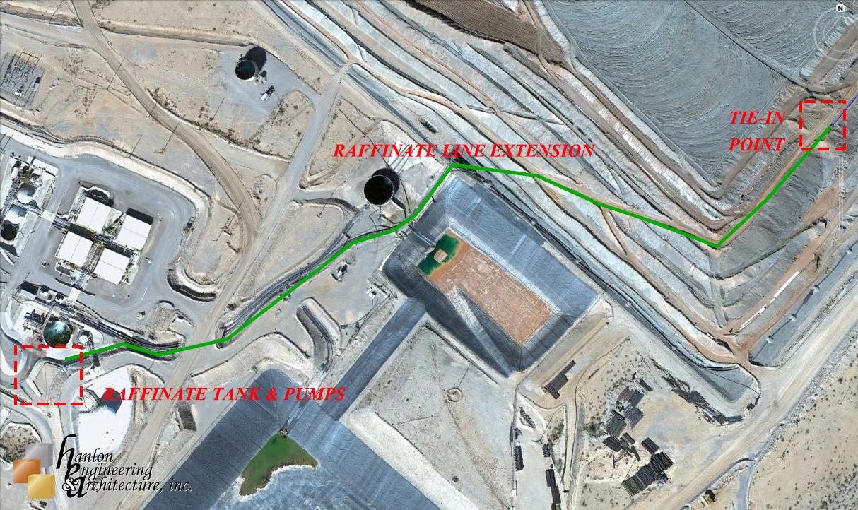 Hanlon Engineering Raffinate Project Site
