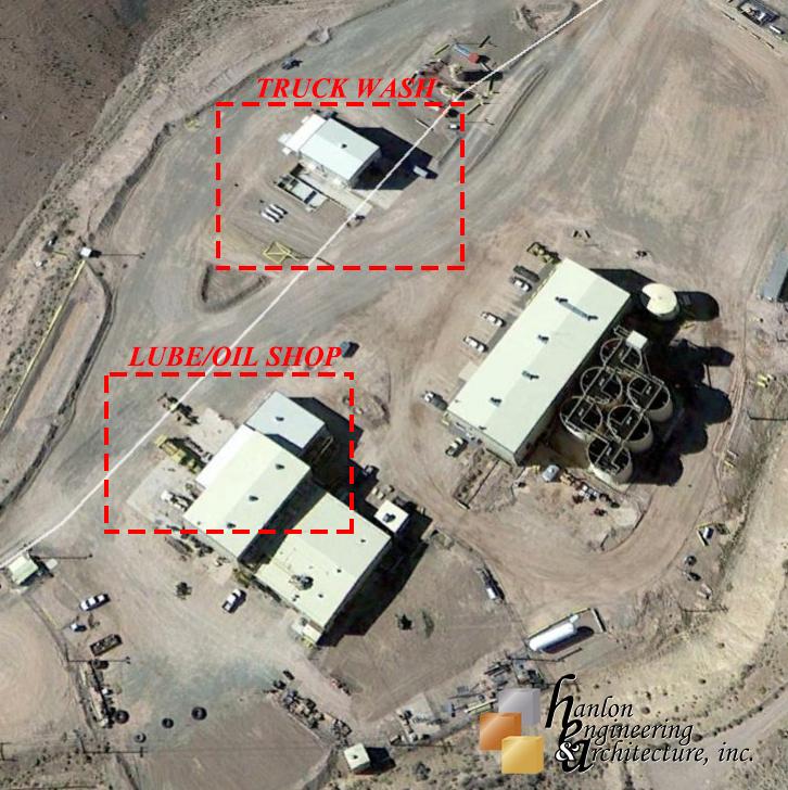 Hanlon Engineering Truck Wash Lube/oil Site
